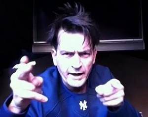 Charlie Sheen Crazed