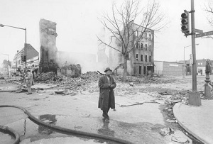 Columbia Heights after riots
