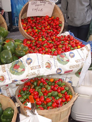 Peppers at Union Square