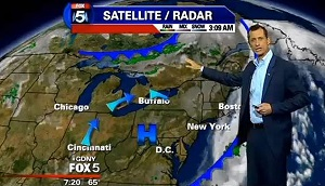 Anthony Weiner doing the weather